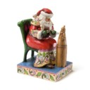 Jim Shore Santa Carving Figurine