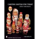 Carving Santas for today with Tom Wolfe