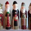 Whittled Santas